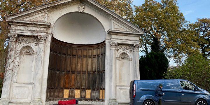 Romark Interiors, work in progress at Queen Annes Gate, Kensington Palace Gardens